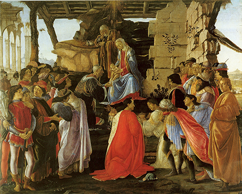Adoration of the Magi-1475 Botticelli ever works