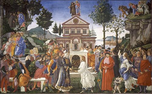 Temptations of Christ-1498/1500