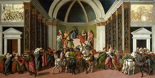 Stories of Virginia-1500/1504 Botticelli